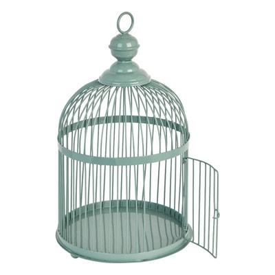 Cage À Oiseaux Métal 40 Cm Cage À Oiseaux Métal 40 Cm ABSOLUMENT MAISON