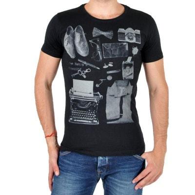 Tee Shirt Treff Noir Tee Shirt Treff Noir JOE RETRO 4fdeaa760334
