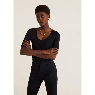 e4449868cf359 T shirt noir basic femme | La Redoute