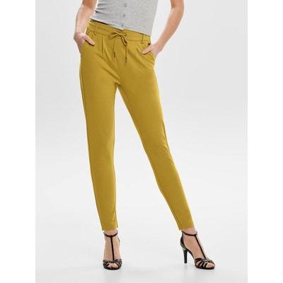 Pantalon Slim Jaune Redoute FemmeLa FemmeLa Jaune Pantalon Redoute Slim GzLSpVqUM