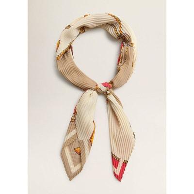 écharpe, foulard femme Mango en solde   La Redoute a8088ff5769