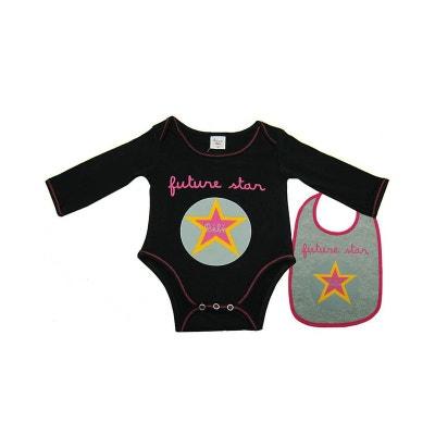 Body bavoir bébé Futur star noir 1 mois POUSSIN BLEU 0a6fb9b9902