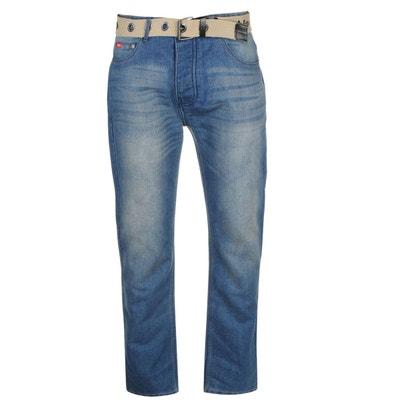 85e87a87620 Jean droit avec ceinture LEE COOPER