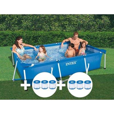 piscine hors sol en solde la redoute. Black Bedroom Furniture Sets. Home Design Ideas
