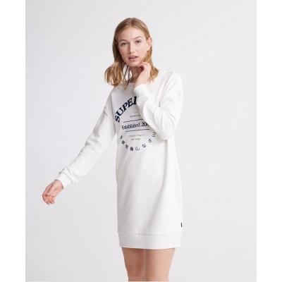 Robe pull blanche | La Redoute