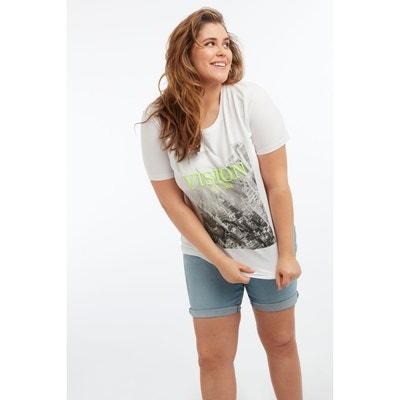 fc95c85ff18f3 Tee shirt manche courte femme en solde MS MODE | La Redoute
