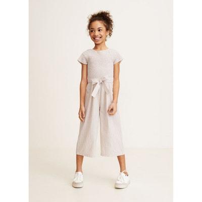 Salopette, combinaison fille - Vêtements 3-16 ans Mango kids   La ... 5743255cf4c