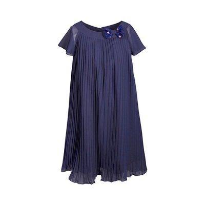 9abf70b22e8 Eisend Robe plissée manches à ailettes robe bébé EISEND
