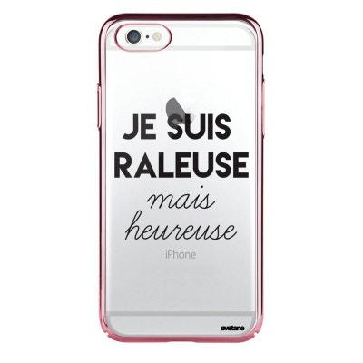coque iphone 6 rose fluo