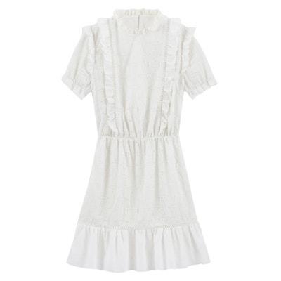 d23156242 Vestido de manga corta de guipur BALZAC PARIS X LA REDOUTE COLLECTIONS