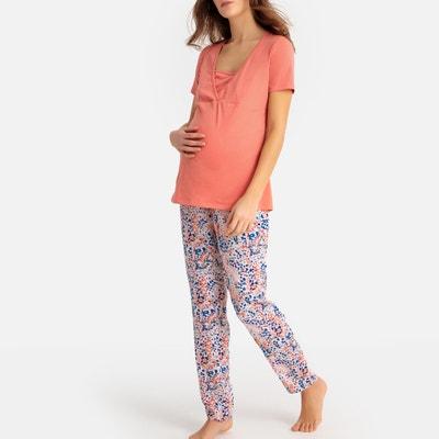 40b8ddb26 Pijama de embarazo y lactancia LA REDOUTE MATERNITÉ