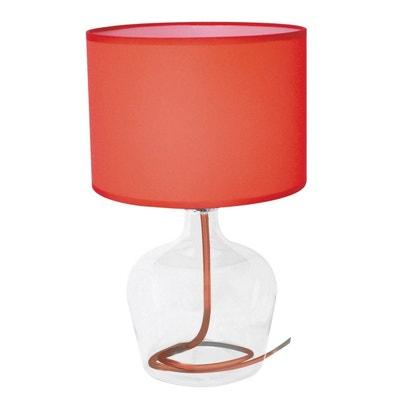 Lampe Galet Rouge La Redoute