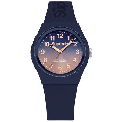 ccc14745fb06b Montre bracelet silicone cadran nuancé URBAN LASER Montre bracelet silicone  cadran nuancé URBAN LASER SUPERDRY