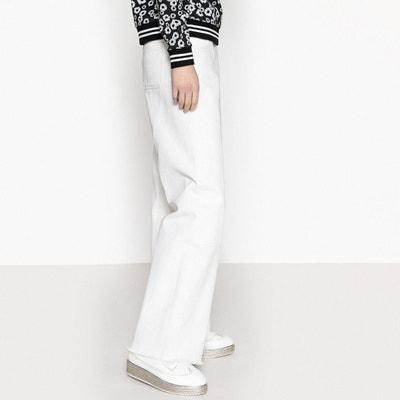 aa0bc95bd31 Pantalon large à ourlet brut Pantalon large à ourlet brut LA REDOUTE  COLLECTIONS