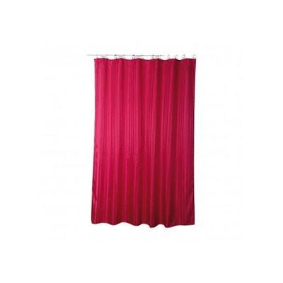 Rideau de douche rose fushia | La Redoute