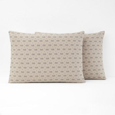 Pillowcases | Patterned, Plain, Cotton | La Redoute