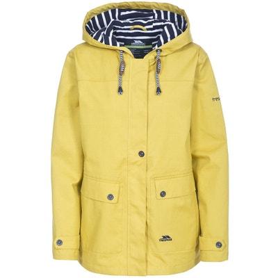 Veste imperméable femme Easy Wear jaune à capuche · Esprit