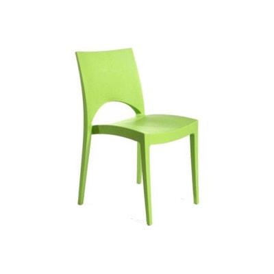 Chaise Design Verte Pomme NAPOLI DECLIKDECO