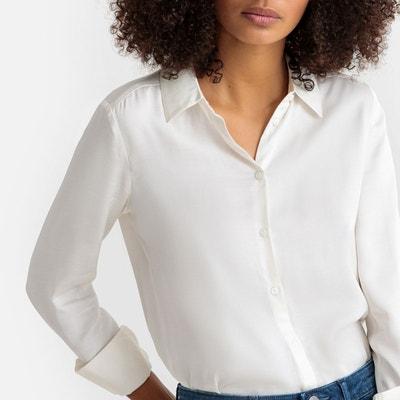 marques reconnues magasin meilleurs vendeurs nouveaux produits pour Chemise blanche femme viscose | La Redoute