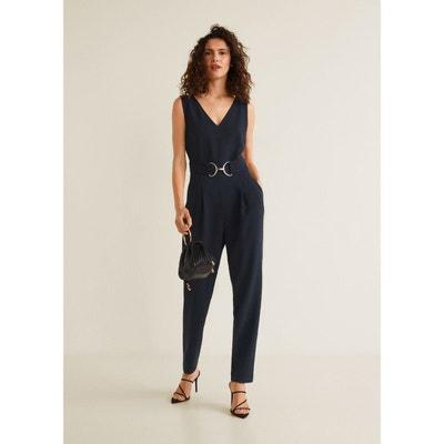 Combinaison-pantalon avec ceinture Combinaison-pantalon avec ceinture MANGO ee2f786af7b