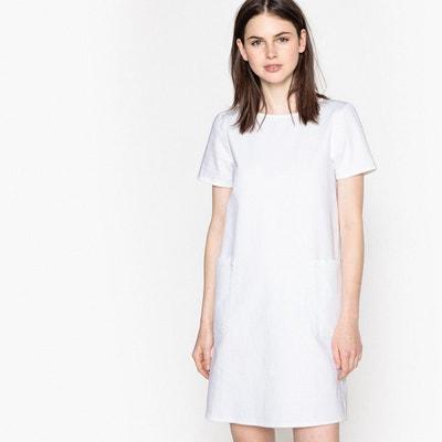8bd26675f08 Robe courte blanche femme