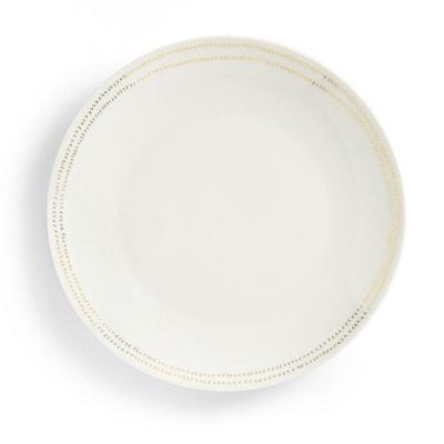 ESSENTIELLE Set of 4 Dinner Plates ESSENTIELLE Set of 4 Dinner Plates LA REDOUTE INTERIEURS