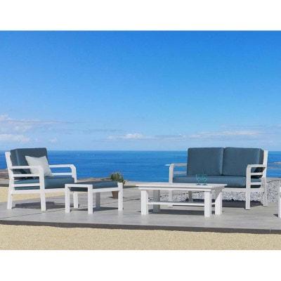 Salon de jardin aluminium blanc | La Redoute