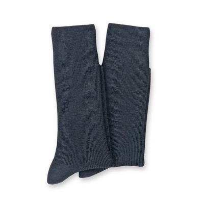 2337d5a4b4231 Lot de 2 paires de mi-chaussettes, laine majoritaire THERMOVITEX