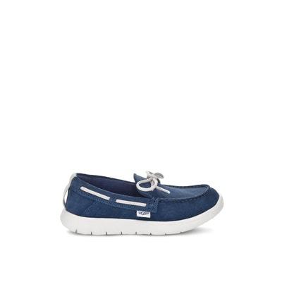 9b19d243833 Chaussures bateau cuir Beach Moc UGG