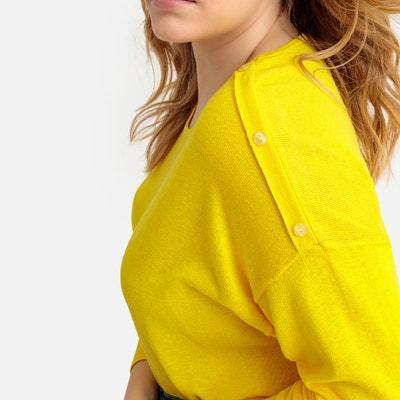 la meilleure attitude e8fc6 0e08d Pull jaune citron femme | La Redoute
