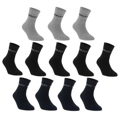 27301bdd3b895 Mi- chaussettes lot de 12 paires DONNAY
