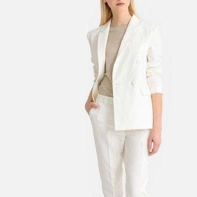 4621e0e10c23 Veste tailleur femme blanche