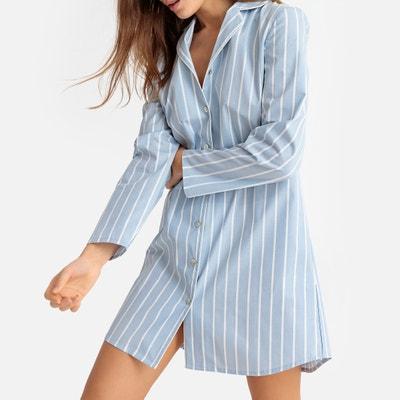 35fdc36f5fa Рубашка ночная в полоску Рубашка ночная в полоску LA REDOUTE COLLECTIONS