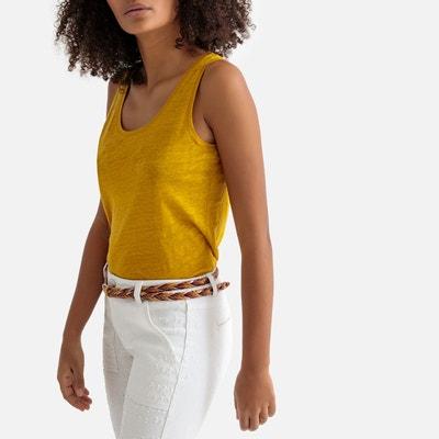 Debardeur femme jaune  017c0dbd16c
