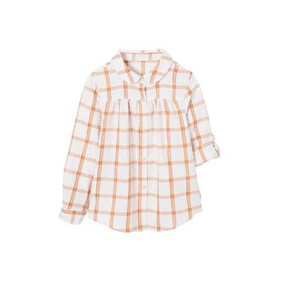 prix favorable personnalisé super pas cher se compare à Chemise à carreaux fille | La Redoute