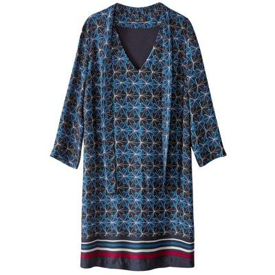 ddeb1e28bd87 Robe foulard housse, imprimée, satin LA REDOUTE COLLECTIONS