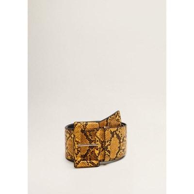 Ceinture large imitation serpent Ceinture large imitation serpent MANGO d304406042f