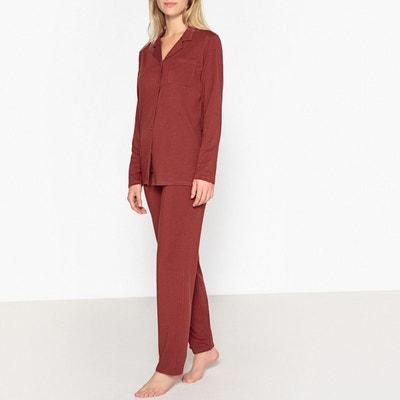 60ab34137b5e7 Pyjama chemise en coton modal Pyjama chemise en coton modal LA REDOUTE  COLLECTIONS