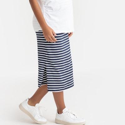 695f0add3 Falda para embarazo con rayas de estilo marinero LA REDOUTE MATERNITÉ