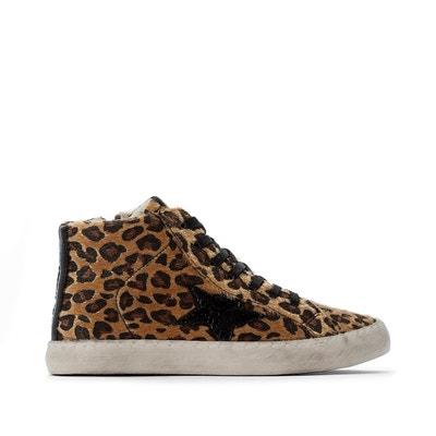 Basket femme leopard | La Redoute