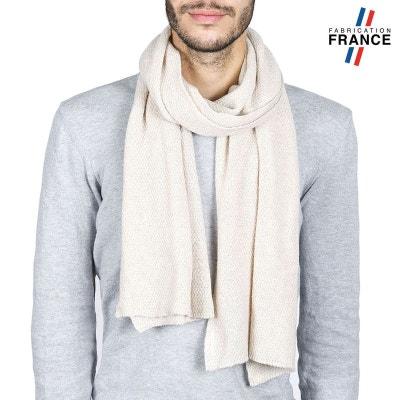 Echarpe Homme SOLAS Beige - Fabriqué en France Echarpe Homme SOLAS Beige -  Fabriqué en France 555f38f6b93