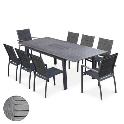 Ensemble table, chaise de jardin   La Redoute