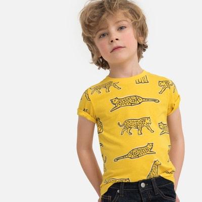 2ea119bbd1025 Décocher les filtres. T-shirt imprimé léopards Oeko-Tex 3-12 ans T-shirt  imprimé