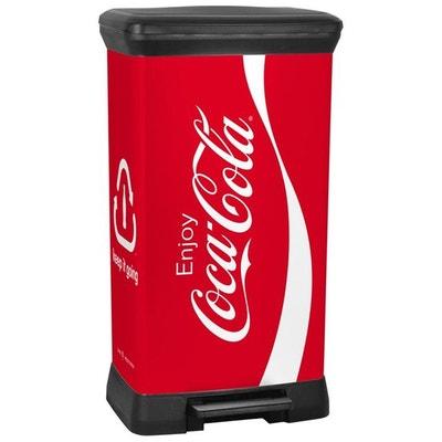 Curver Deco Poubelle De Recyclage 50 L  Coca Cola Curver Deco Poubelle De  Recyclage
