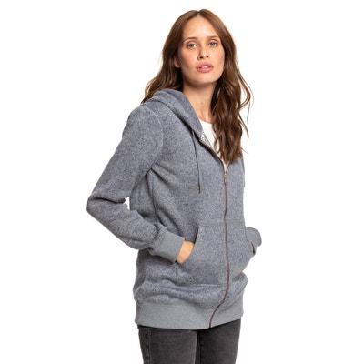 Sweat polaire femme capuche | La Redoute