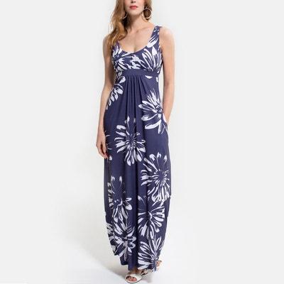 Robe Longue Blanche Style Boheme La Redoute