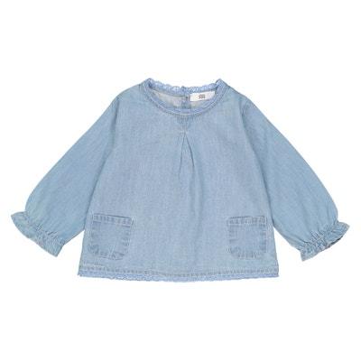 Blusa de manga larga vaquera 69d06556bc71