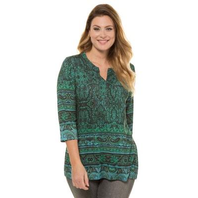 faf6349f0ab T shirt femme grande taille manches longues - Castaluna