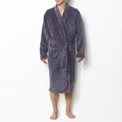 baafc9dd56e70 Robe de chambre maille polaire Robe de chambre maille polaire LA REDOUTE  COLLECTIONS