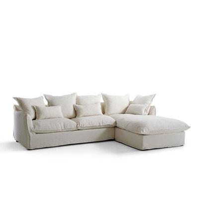 taille 40 16123 d6a7a Canape lin blanc | La Redoute